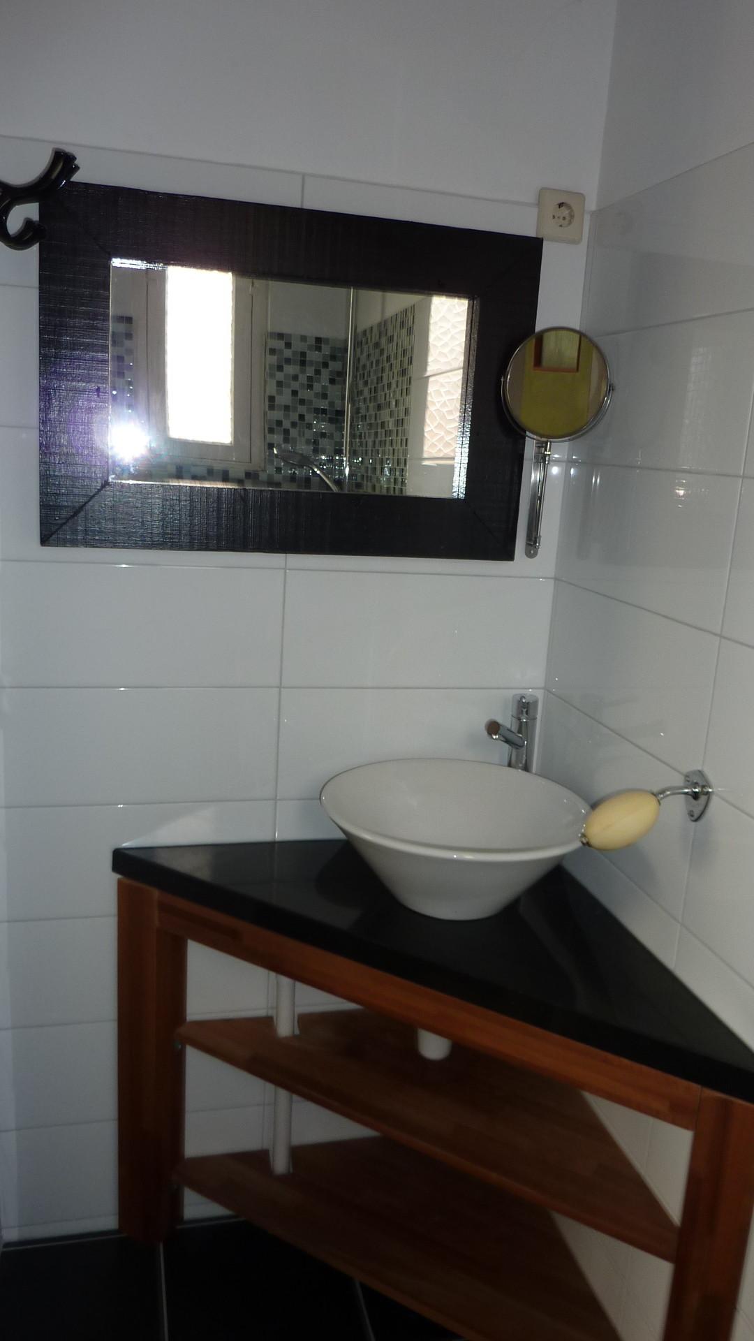 Badkamer in bodegraven - Marmeren douche ...