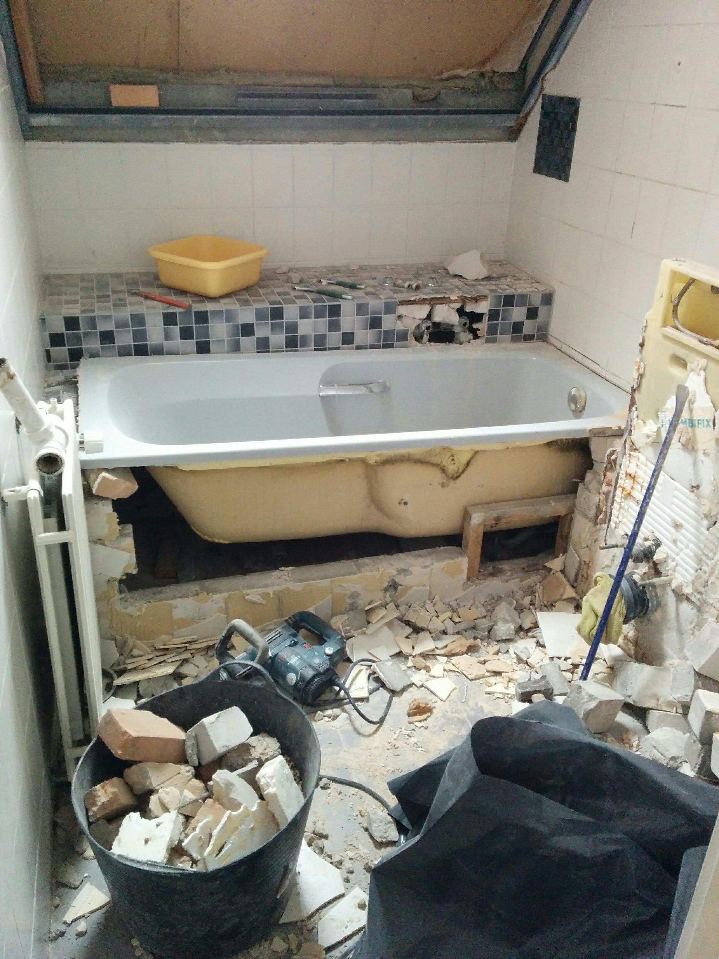 Nieuwe badkamer Nieuwegein